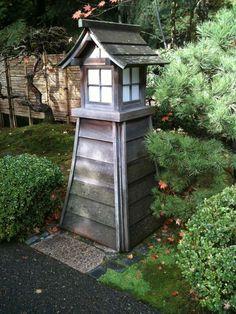 Garden Light, Japanese Garden, Portland, Oregon
