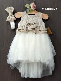 Madonna-gamosvaptisi - Home Cute Girl Outfits, Baby Girl Dresses, Baby Dress, Flower Girl Dresses, Kid Dresses, Floral Wallpaper Phone, Cute Girls, Little Girls, Baby Skirt