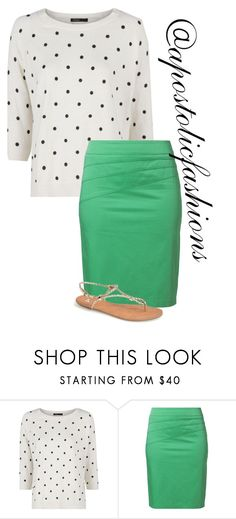 """""""Apostolic Fashions #1328"""" by apostolicfashions ❤ liked on Polyvore featuring MANGO, Gerry Weber Edition, BP., modestlykay and modestlywhit"""