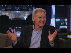 Harrison Ford Wont Answer Star Wars Questions (this is hilarious)