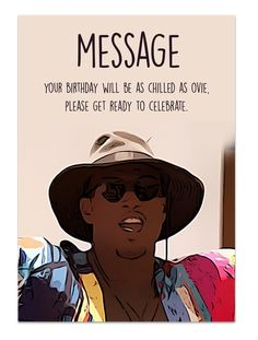 Ovie Love Island Birthday Card