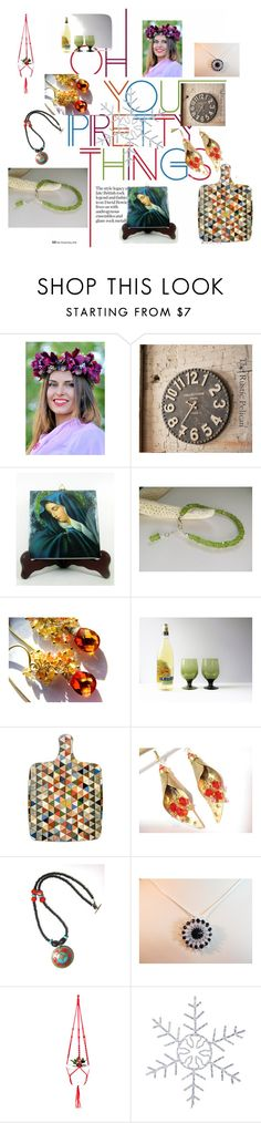 """""""Oh you Pretty Things"""" by anna-recycle ❤ liked on Polyvore"""