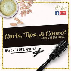 Womenpreneurs unite on our FB Live series! Join us this Wednesday on FB Live @ 7pm EST for more curltastic talks! #curlkit #curllife #teamnatural #teamnatural_ #mynaturalhair #urbanhairpost #naturalhairmojo #naturalherstory #myhaircrush #naturalhaircommunity