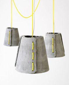 = neon threaded pendants