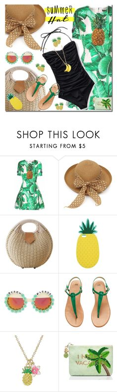 """""""Summer hat"""" by anne-irene on Polyvore featuring Dolce&Gabbana, Miss Selfridge, Rad+Refined, H&M, Kate Spade and summerhat"""