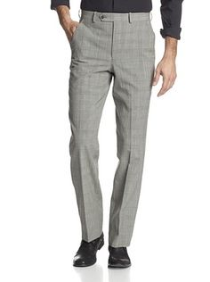 80% OFF Corbin Men's Flat Front Trouser (Grey)