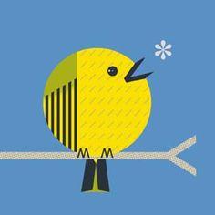 Scott Partridge - singing yellow bird