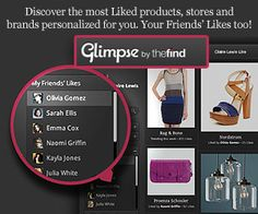 Glimpse by TheFind for a Personalized Shopping Experience