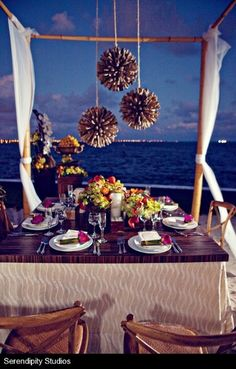 Beach Venue Ideas Wedding Reception Photos on WeddingWire
