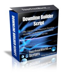 Downline Builder Script   If you want to Earn Money Online then this is right place for you. This is the place where you can build your Downline and through Downline Builder Script program you can earn hundreds of Dollars.  To know more details Visit our Website: http://www.yourfreeworld.com/script/downlinebuilder.php?id=4753  Our Facebook Page: https://www.facebook.com/Innateapps/