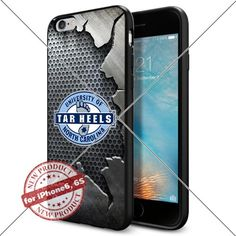 WADE CASE University of North Carolina Logo NCAA Cool Apple iPhone6 6S Case #1386 Black Smartphone Case Cover Collector TPU Rubber [Iron] WADE CASE http://www.amazon.com/dp/B017KVO156/ref=cm_sw_r_pi_dp_yvLpwb1Y4W4E2
