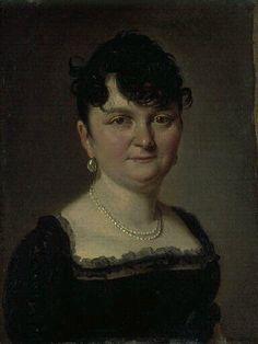Louis-Léopold Boilly, Portrait of a woman, 1806