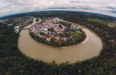 Wasserburg am Inn Bayern Deutschland | Bavaria Germany  Thomas Brand | brand4art #travel #aerial #quadcopter