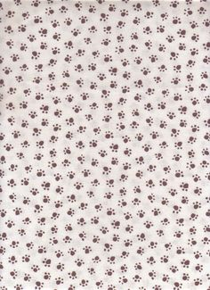 Paw Prints I Spy Cat Dog fabric 1 yard brown on by 3dogdesigns, $10.80