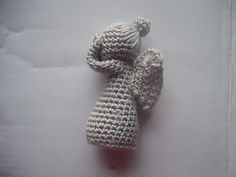 DON'T BLINK! Don't even blink. Blink and you're dead. Free pattern on Ravelry for an adorable Weeping Angel :)