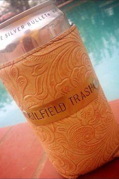 Oilfield Trash by MyGrannysPennies on Etsy Oilfield Quotes, Oilfield Humor, Oilfield Girlfriend, Oilfield Man, Oilfield Trash, Leather Tooling Patterns, Combat Medic, Oil Rig, Bud Light