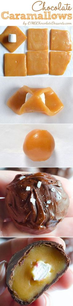 Chocolate Caramallows - OMGChocolateDesse...