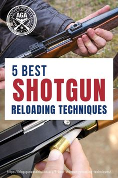 Learn these different shotgun reloading techniques and find yourself in an advantage whether it's a tactical, competition, or an emergency situation. #shotgun #reloading #reloadingtechniques #guntips #gunassociation Shotguns, Firearms, Ammo Storage, Chest Rig, Stopping Power, Guns And Ammo, Safety Tips, Emergency Preparedness, Shotgun