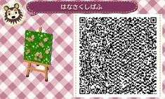 animal crossing grass QR code animal crossing new leaf new leaf acnl ac:nl QR Animal Crossing 3ds, Animal Crossing Qr Codes Clothes, Acnl Qr Code Sol, Acnl Paths, Theme Nature, Grass Pattern, Motif Acnl, Brick Path, Concrete Path