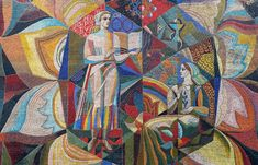Party pieces: admiring Kiev's utopian socialist mosaics, before they disappear - The Calvert Journal