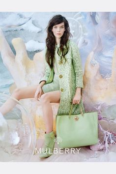 My kind of Summer - -  Meghan Collison for Mulberry S/S 2013