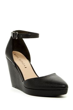 Via Spiga - Nalo Ankle Strap Wedge Heel  at Nordstrom Rack. Free Shipping on orders over $100.