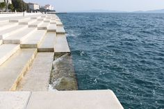 The Zadar Sea Organ, a 230-foot-long organ designed by architect Nikola Bašić, transforms the rhythm of the waves and wind into beautiful music. It sounds like a bunch of musicians sitting by the sea and playing however the wind directs them...