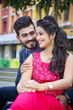 """The Triune Pictures """"Portfolio"""" Love Story Shot - Bride and Groom in a Nice Outfits. Indian Wedding Couple Photography, Wedding Couple Photos, Couple Photography Poses, Bridal Photography, Wedding Pics, Wedding Couples, Couple Pics, Romantic Couples, Pre Wedding Poses"""