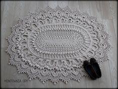 Montownia Ody: Szydełkowy dywan ze sznurka nowosolskiego