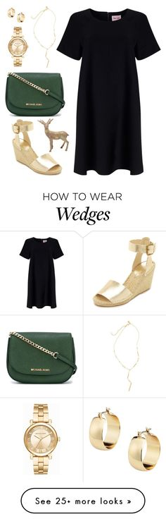 """""""Untitled #866"""" by alissar13 on Polyvore featuring Phase Eight, Soludos, MICHAEL Michael Kors, Madewell, Michael Kors and M&Co"""