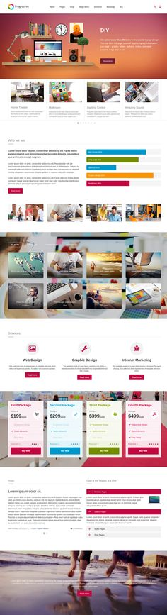 'Progressive' is a $15 one page HTML template perfect for digital agencies or even a personal site. The template claims to have over 80 UI elements included and 50+ page templates, crazy work for $15 ey, but good to know you have the options.