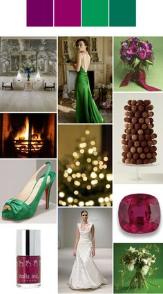 winter wedding colour palette  For more insipiration visit us at https://facebook.com/theweddingcompanyni or http://www.theweddingcompany.ie
