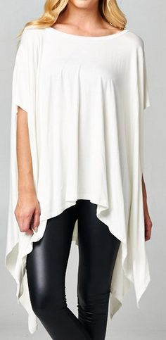 London Tunic in Ivory