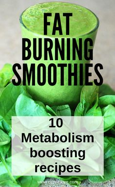 I bet you will swear by these 10 fat-burning smoothie recipes perfect for breakfast. I bet you will swear by these 10 fat-burning smoothie recipes perfect for breakfast. Best Fat Burning Foods, Fat Burning Drinks, Weight Loss Drinks, Weight Loss Smoothies, Fat Burning Smoothie Recipes, Burn Belly Fat Fast, Eat Fat, Lose Weight Naturally, Smoothie Diet