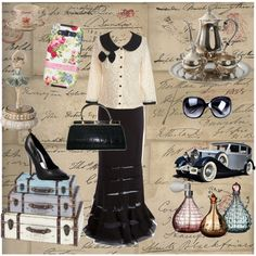 vintage by arkgirl on Polyvore. Words cannot express!!!