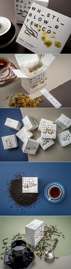 This Striking Tea Packaging Will Have You Filling In The Blanks — The Dieline | Packaging & Branding Design & Innovation News
