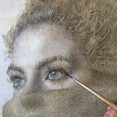 Detail from my upcoming show at opening July Human Painting, Painting & Drawing, Art Sketches, Art Drawings, Trois Crayons, Modern Drawing, Anatomy Drawing, Portraits, Art Pictures