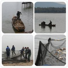 De wonderbare visvangst in het Tatameer. #Hungary #Tata #nature #landscape  #instagram