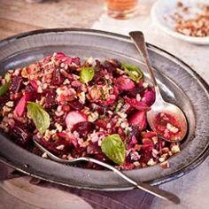 Roasted Beet & Barley Salad