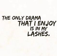 I love my long lashes!