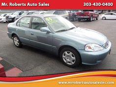 Cars for Sale: Used 2000 Honda Civic EX Sedan for sale in Denver, CO 80221: Sedan Details - 457054929 - Autotrader