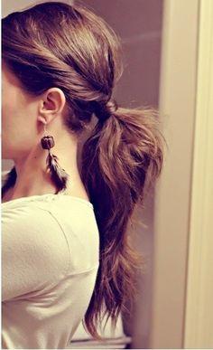 Easy hair but super cute!!
