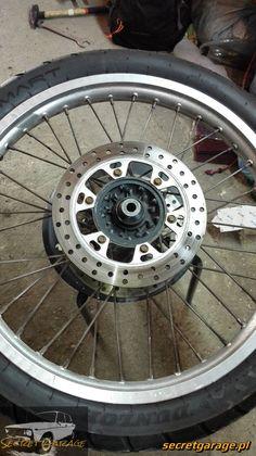Yamaha XTZ 750 - Front wheel bearing replacement