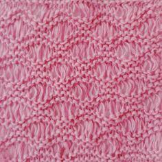 12 vändbara stickmönster (strukturmönster) till halsdukar, sjalar, filtar ... Knitting Stitches, Baby Knitting, Knitting Patterns, Threading, Knit Patterns, Baby Knits, Knitting Stitch Patterns, Loom Knitting Stitches, Loom Knitting Patterns
