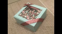 Shaker Lid Gift Box Video Tutorial with Stampin' Up Products