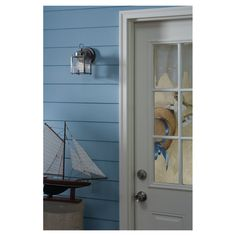 New Castle Collection by Sea Gull Lighting: Single-Light Outdoor. #lighting #outdoor #outdoordecor #outdoorroom #outdoorlighting #walllighting #outdoorwall #lantern #outdoorlantern #walllantern #SeaGullLighting