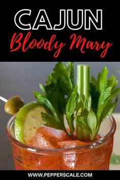 A cocktail chock full of spice… Everywhere you turn in this Cajun Bloody Mary recipe, you have delicious, delicious spice. It all starts with the Cajun seasoning, with its mix of spices, including cayenne. Vodka And Pineapple Juice, Vodka Lime, Infused Vodka, Lime Juice, Fruity Drinks, Yummy Drinks, Healthy Detox, Healthy Smoothies, Tabasco Hot Sauce