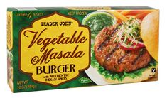Trader Joe's Vegetable Masala Burger | The Definitive Ranking Of Veggie Burgers