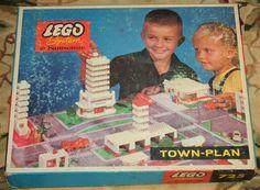 1961 Vintage Lego System by Samsonite 725