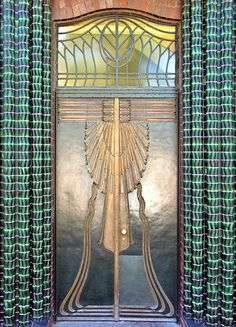 Art Deco Door - Darmstadt - Germany. @Deidra Brocké Wallace